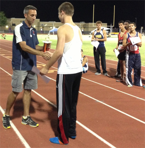 Tim Duckworth Arizona Decathlon Champion